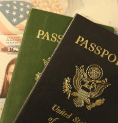 USA Immigration Passport