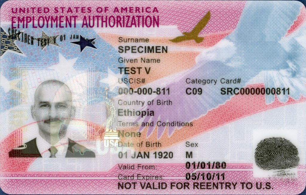 work permit ead